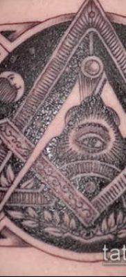 фото тату на ляжке (tattoo Masons) (значение) – пример рисунка – 031 tatufoto.com