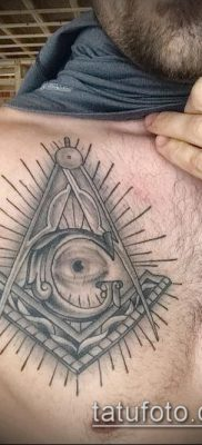 фото тату на ляжке (tattoo Masons) (значение) – пример рисунка – 043 tatufoto.com