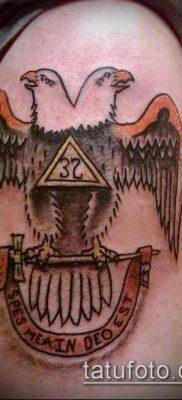 фото тату на ляжке (tattoo Masons) (значение) – пример рисунка – 051 tatufoto.com