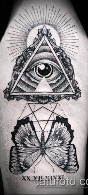фото тату на ляжке (tattoo Masons) (значение) – пример рисунка – 055 tatufoto.com