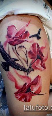 фото тату на ляжке (tattoo on thigh) (значение) – пример рисунка – 024 tatufoto.com