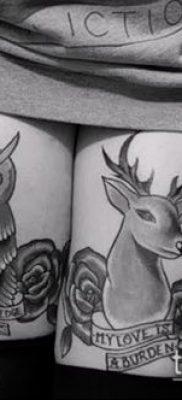 фото тату на ляжке (tattoo on thigh) (значение) – пример рисунка – 027 tatufoto.com