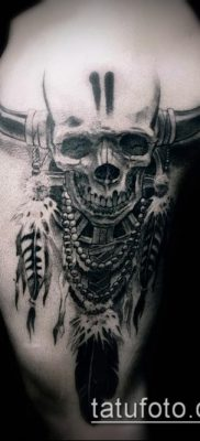 фото тату на ляжке (tattoo on thigh) (значение) – пример рисунка – 028 tatufoto.com