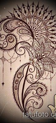 фото тату на ляжке (tattoo on thigh) (значение) – пример рисунка – 040 tatufoto.com