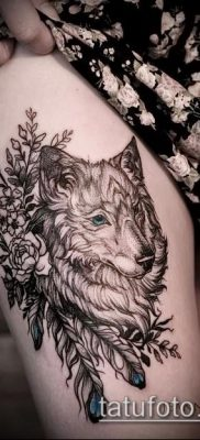 фото тату на ляжке (tattoo on thigh) (значение) – пример рисунка – 041 tatufoto.com