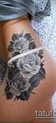 фото тату на ляжке (tattoo on thigh) (значение) – пример рисунка – 043 tatufoto.com