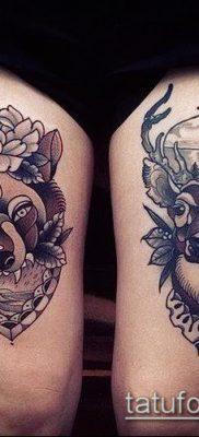 фото тату на ляжке (tattoo on thigh) (значение) – пример рисунка – 052 tatufoto.com