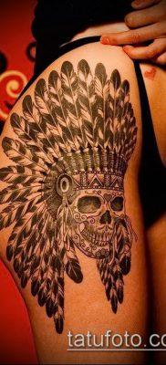 фото тату на ляжке (tattoo on thigh) (значение) – пример рисунка – 060 tatufoto.com