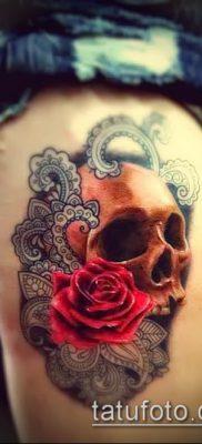 фото тату на ляжке (tattoo on thigh) (значение) – пример рисунка – 063 tatufoto.com