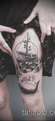 фото тату на ляжке (tattoo on thigh) (значение) – пример рисунка – 065 tatufoto.com