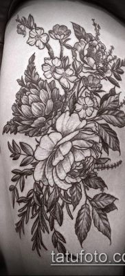 фото тату на ляжке (tattoo on thigh) (значение) – пример рисунка – 090 tatufoto.com