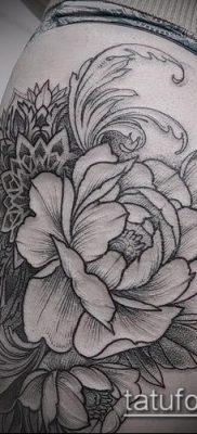 фото тату на ляжке (tattoo on thigh) (значение) – пример рисунка – 107 tatufoto.com