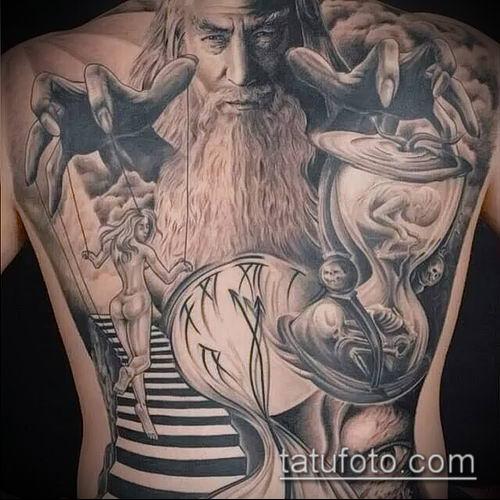 фото тату нитки с марионетка (tattoo) (значение) - пример рисунка - 007 tatufoto.com