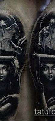 фото тату нитки с марионетка (tattoo) (значение) – пример рисунка – 012 tatufoto.com