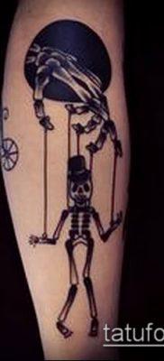 фото тату нитки с марионетка (tattoo) (значение) – пример рисунка – 023 tatufoto.com
