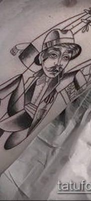 фото тату нитки с марионетка (tattoo) (значение) – пример рисунка – 025 tatufoto.com