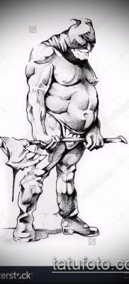 фото тату палач (значение) – пример интересного рисунка тату – 006 tatufoto.com