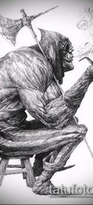 фото тату палач (значение) – пример интересного рисунка тату – 017 tatufoto.com
