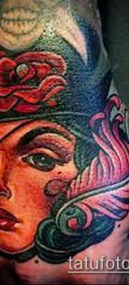 фото тату пират (значение) – пример интересного рисунка тату – 002 tatufoto.com