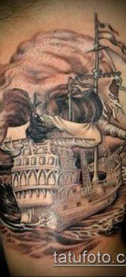 фото тату пират (значение) – пример интересного рисунка тату – 005 tatufoto.com