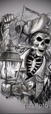 фото тату пират (значение) – пример интересного рисунка тату – 007 tatufoto.com