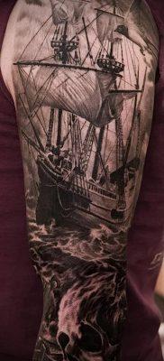 фото тату пират (значение) – пример интересного рисунка тату – 010 tatufoto.com