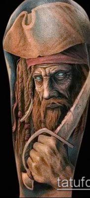 фото тату пират (значение) – пример интересного рисунка тату – 011 tatufoto.com