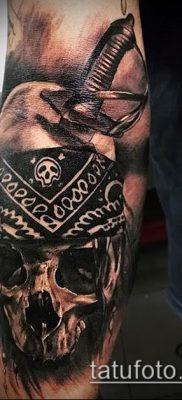 фото тату пират (значение) – пример интересного рисунка тату – 017 tatufoto.com