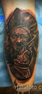 фото тату пират (значение) – пример интересного рисунка тату – 019 tatufoto.com