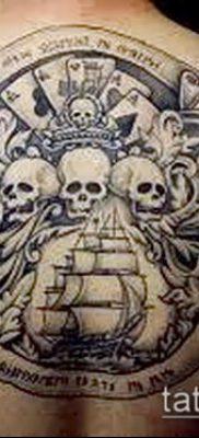 фото тату пират (значение) – пример интересного рисунка тату – 024 tatufoto.com