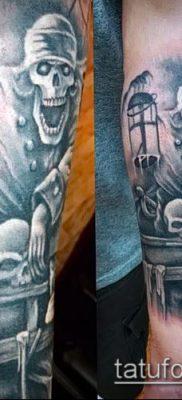 фото тату пират (значение) – пример интересного рисунка тату – 028 tatufoto.com
