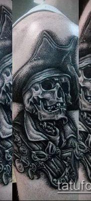 фото тату пират (значение) – пример интересного рисунка тату – 029 tatufoto.com