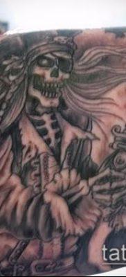 фото тату пират (значение) – пример интересного рисунка тату – 032 tatufoto.com