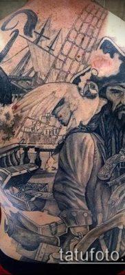 фото тату пират (значение) – пример интересного рисунка тату – 033 tatufoto.com