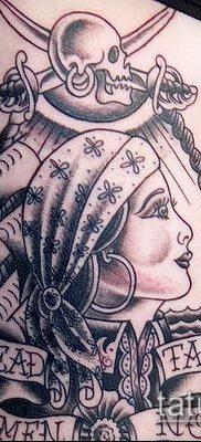 фото тату пират (значение) – пример интересного рисунка тату – 034 tatufoto.com
