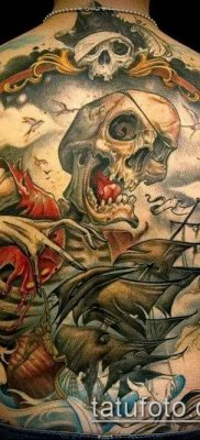 фото тату пират (значение) – пример интересного рисунка тату – 042 tatufoto.com