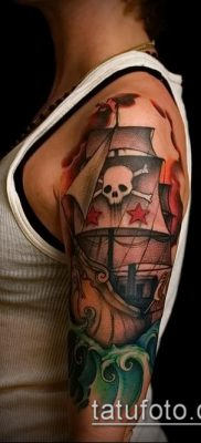 фото тату пират (значение) – пример интересного рисунка тату – 043 tatufoto.com