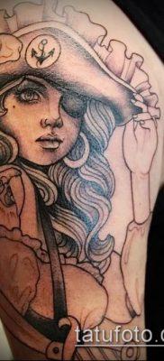 фото тату пират (значение) – пример интересного рисунка тату – 045 tatufoto.com