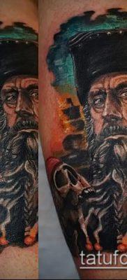 фото тату пират (значение) – пример интересного рисунка тату – 048 tatufoto.com