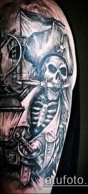 фото тату пират (значение) – пример интересного рисунка тату – 051 tatufoto.com