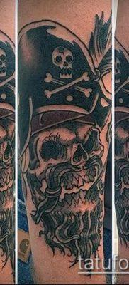 фото тату пират (значение) – пример интересного рисунка тату – 056 tatufoto.com
