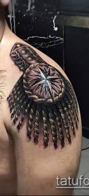 фото тату погон (tattoo epaulettes) (значение) – пример рисунка – 035 tatufoto.com