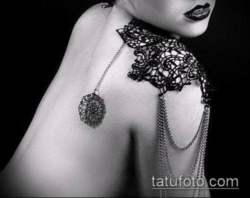 фото тату погон (tattoo epaulettes) (значение) - пример рисунка - 061 tatufoto.com