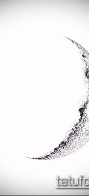 фото тату полумесяц (значение) – пример интересного рисунка тату – 034 tatufoto.com