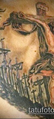 фото тату распятие (crucifix tattoo) (значение) – пример рисунка – 012 tatufoto.com