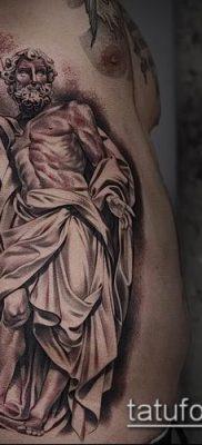 фото тату распятие (crucifix tattoo) (значение) – пример рисунка – 023 tatufoto.com