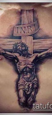 фото тату распятие (crucifix tattoo) (значение) – пример рисунка – 031 tatufoto.com