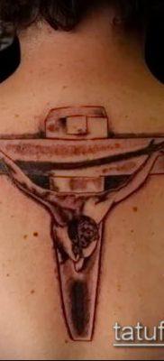 фото тату распятие (crucifix tattoo) (значение) – пример рисунка – 035 tatufoto.com