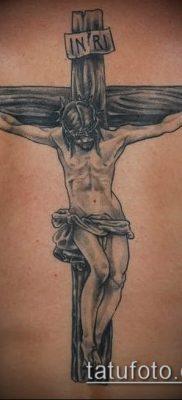 фото тату распятие (crucifix tattoo) (значение) – пример рисунка – 042 tatufoto.com