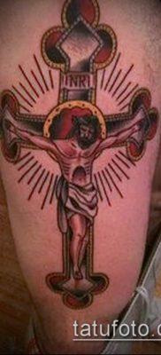фото тату распятие (crucifix tattoo) (значение) – пример рисунка – 043 tatufoto.com